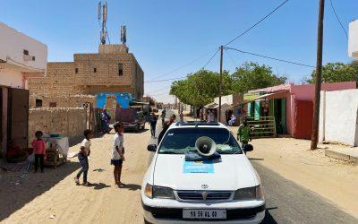 سلطة تنظيم الاشهار تستهدف الأحياء الشعبية بولاية نواكشوط الشمالية بحملتها التحسيسية المسموعة