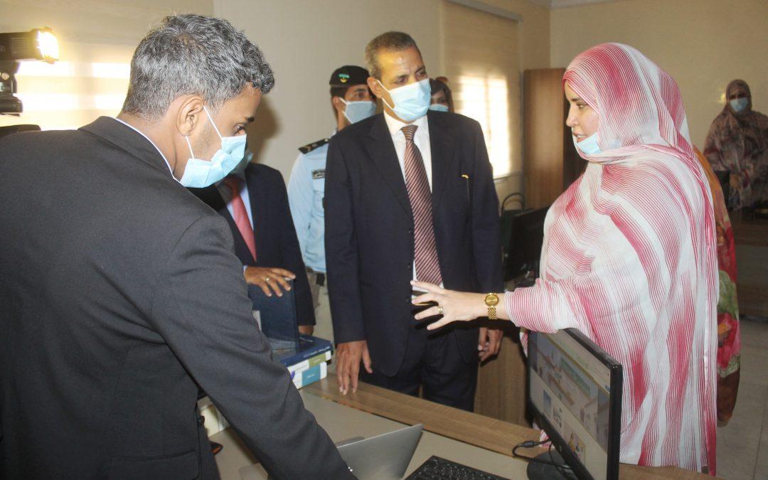 وزير الثقافة  يقوم بزيارة تفقد واطلاع لسلطة تنظيم الإشهار
