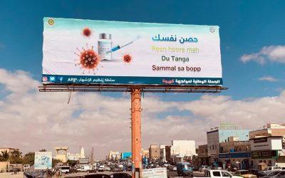 سلطة تنظيم الإشهار تواصل حملتها ضد فيروس كورونا ( صور )
